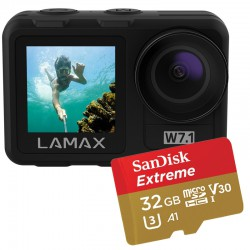 Kamera sportowa LAMAX W7.1 + AKCESORIA