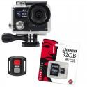Kamera sportowa BML cShot5 4K + Akcesoria + Karta pamięci KINGSTON 32gb