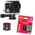 Kamera sportowa BML cShot5 4K + Akcesoria + Karta pamięci GOODRAM 32gb