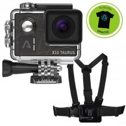 Kamera Sportowa LAMAX X10 Taurus + AKCESORIA + Szelki do kamery