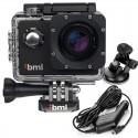 Kamera sportowa BML cShot1 4K + Akcesoria + Zestaw do samochodu