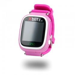 Xblitz LOVE ME SmartWatch GPS z aktywną ochroną rodzicielską (blue)