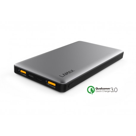 Powerbank LAMAX 10000 mAh USB QUICK CHARGE 3.0