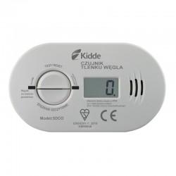 KIDDE Czujnik czadu z wyświetlaczem LCD + baterie (5DCO)