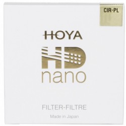 HOYA FILTR POLARYZACYJNY HD NANO 62 mm