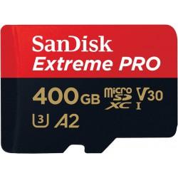 KARTA SANDISK EXTREME PRO microSDXC 400GB 170/90 MB/s A2 C10 V30 UHS-I U3