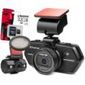 TrueCam A6 wideorejestrator z kamerą cofania + Filtr polaryzacyjny CPL + Karta pamięci KINGSTON