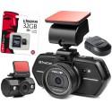 TrueCam A6 wideorejestrator z kamerą cofania + Moduł GPS + Karta pamięci KINGSTON