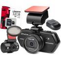 TrueCam A6 wideorejestrator z kamerą cofania + Moduł GPS + Karta pamięci KINGSTON + Filtr CPL