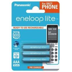 PANASONIC ENELOOP LITE R03/AAA 550mAh – 3 szt blister