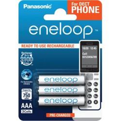 PANASONIC ENELOOP R03/AAA 750mAh – 3 szt blister
