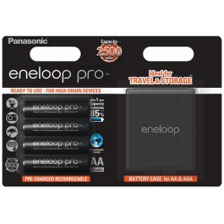 PANASONIC ENELOOP PRO R6/AA 2500mAh – 4 szt blister +box