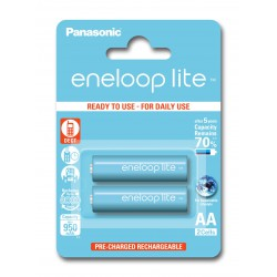PANASONIC ENELOOP LITE R6/AA 950mAh – 2 szt blister