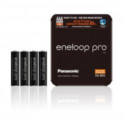 PANASONIC ENELOOP PRO R03/AAA 930mAh - 4 szt sliding pack