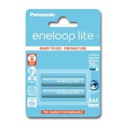 PANASONIC ENELOOP LITE R03/AAA 550mAh – 2 szt blister