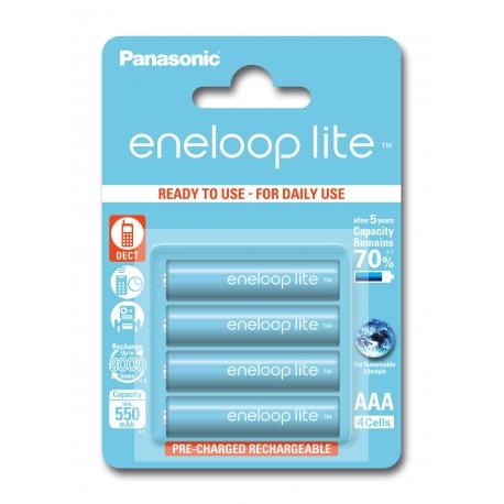 PANASONIC ENELOOP LITE R03/AAA 550mAh – 4 szt blister