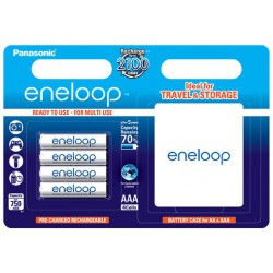 PANASONIC ENELOOP R03/AAA 750mAh – 4 szt blister + box