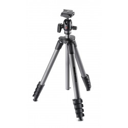 STATYW MANFROTTO COMPACT ADVANCED 5 SEKC. Z GŁOWICĄ KULOWĄ RC2