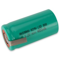 Ansmann Akumulator NiMH Rechargeable battery / Typ 4500 maxE with solder tail