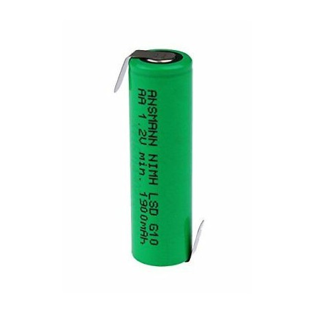 Ansmann Akumulator NiMH Rechargeable battery / Typ 2100 max with solder tail